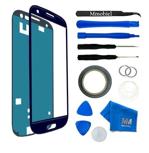 MMOBIEL® Kit de Reemplazo de Pantalla Táctil para Samsung Galaxy S3 i9300 i9305/S3 Neo i9301 Series (Azul) Incl Kit de Herramientas/Pinzas/Cinta adhesiva/Limpiador/Alambre/Manual