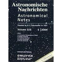 Astronomische Nachrichten/Astronomical Notes
