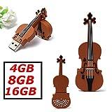 MECO 8G GO GB Clé USB 2.0 Modèle Cartoon violon Flash Drive Mémoire Stick plastique