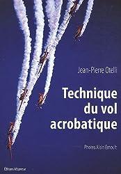 Technique du vol acrobatique