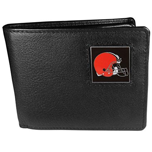 Siskiyou Gifts Co, Inc. NFL Cleveland Browns Leder-Brieftasche (Cleveland Browns-gürtelschnalle)