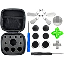 eXtremeRate® Metal Magnetic 3 in 1 D-pads Thumbsticks Joysticks Paddles Hair Trigger Locks T8H Cross Screwdrivers Repair Replacement Parts Kits for Xbox One Xbox One Elite Xbox One S Controller