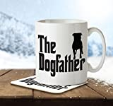 Best love Dad Mugs - The Dogfather - Mug and Coaster By Inky Review