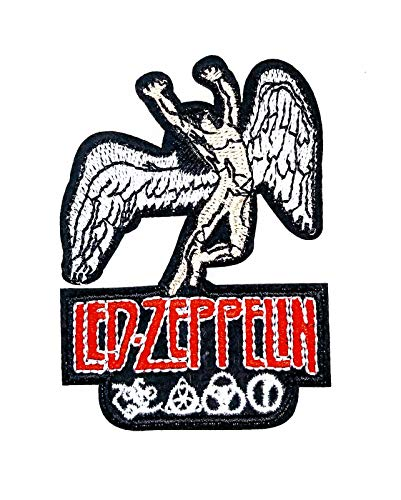 Parche Termoadhesivo Led Zeppelin color 8x5