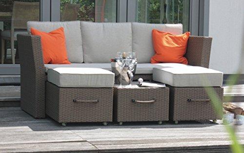 Aluminium-Polyrattan Sofa ?Sydney?