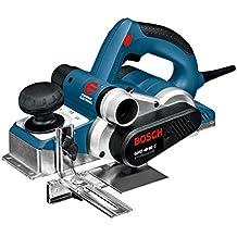 Bosch GHO 40-82 C Professional - Lijadora (169 mm, 296 mm, 173 mm, 3200 g) Negro, Azul, Plata