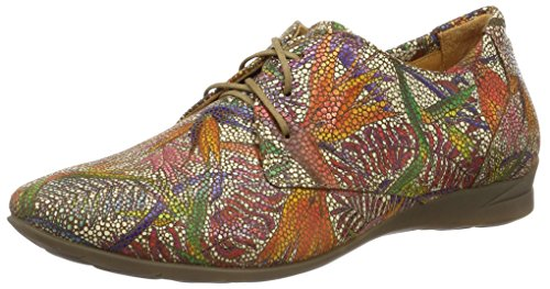 Think Wunda, Scarpe Stringate Donna Multicolore (muskat/kombi 40)