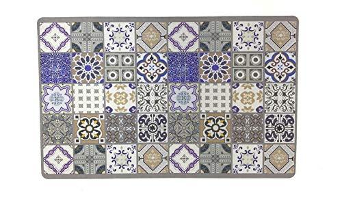 De'Carpet Alfombra Textil Hidráulica Original Moderna Reno (100x140cm