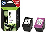HP 62 2-pack Black/Tri-color Original Ink...