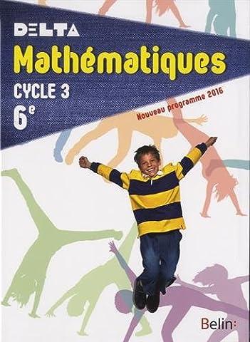 Mathématiques 6e cycle 3 : livre de l'élève - Format
