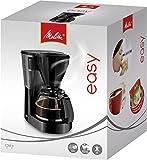 Melitta, Filterkaffeemaschine mit Glaskanne, EASY, Tropfstopp, Schwarz, 1010-02 - 2