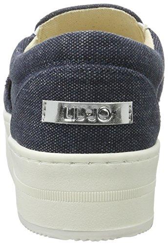 Liu Jo Damen Kuniko Sneaker Blau (Blu notte)
