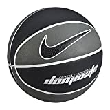 Nike Dominate (size 7) Basketball Ultimate Grip For Outdoor Courts. Crafted Specifically For The Playground Game, The Nike Dominate (size 7) Men 's Basketball offers Better Hand Alignment, grip and Ball Control with a durable, deepchannel est...