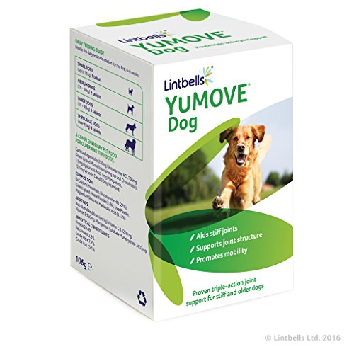 Lintbells YuMOVE Dog Joint Supplement für steife Hunde - 120 Tabletten -