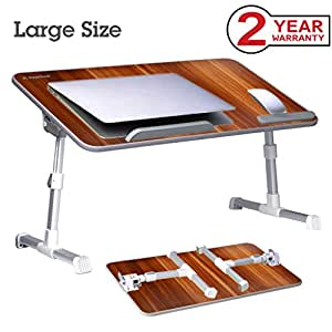 Avantree Adjustable Laptop Bed Table Portable Standing