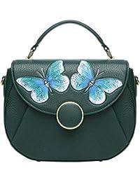 Pijushi Women'S Designer Butterfly Top Handle Satchel Handbag Purse Shoulder Cross Body Bag 8002(One Size, New... - B06Y35VGJK