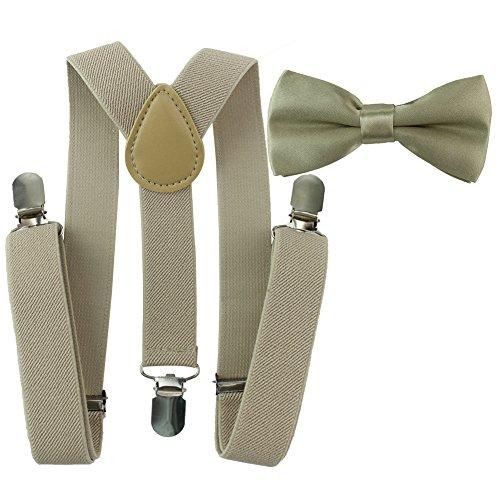 g elastisch Hosenträger Y-Form Länge für Kinder und Jungen mit den starken Clips Playshoes und Halsschleife Fliege in verschiedenen Designs (Jungen Und Mädchen Kostüme-matching)