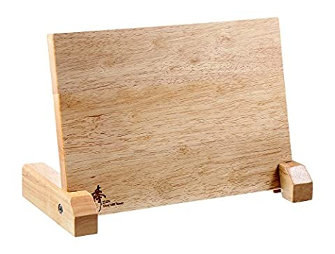 ZHEN Magnetic Board Solid Natural Wood Knife Block