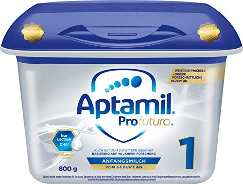 Aptamil Profutura 1 Anfangsmilch von Geburt an (1 x 800 g)