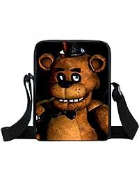 Generic XKB FLD21 : Five Nights At Freddy Shoulder Bag FNAF Messenger Bags Five Nights At Freddys Crossbody Bag...