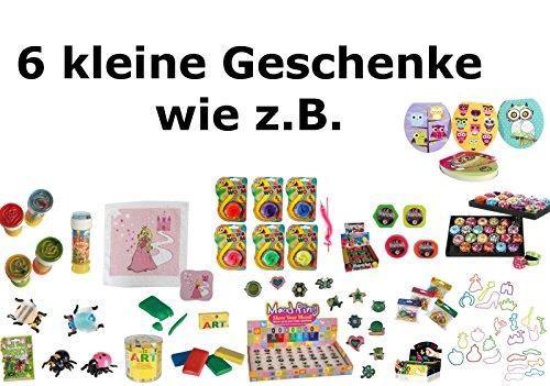 6x Kindergeschenke (MÄDCHEN) für S Geschenktüten - Mitgebsel / Give Away Kindergeburtstag