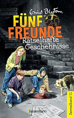 Fünf Freunde - Rätselhafte Geschehnisse - DB 11: Sammelband 11: Fünf Freunde machen eine Entdeckung/Fünf Freunde meistern jede Gefahr (Kurzgeschichten)