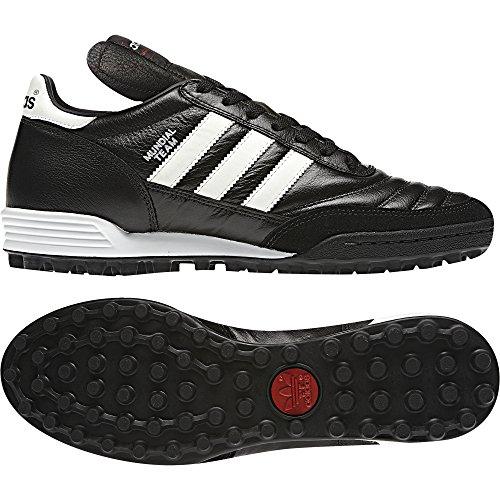 Adidas Mundial Team, Chaussures de Football Adulte Mixte Blanc/noir