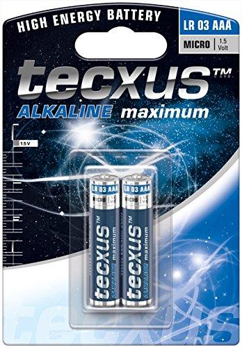 Micro (LR03 / AAA) Batterien Alkaline 1,5 V mit langer Lebensdauer, 2er Pack
