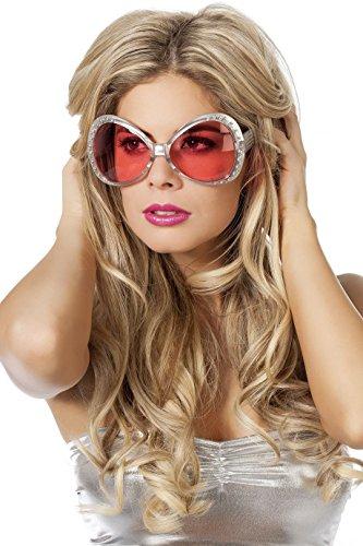 Disco Sonnenbrille - Wilbers 20009 Sonnenbrille 70er Jahre
