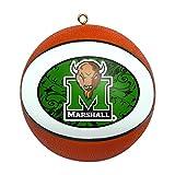 Boelter Brands NCAA Marshall Thundering Herd Replica Basketball Ornament