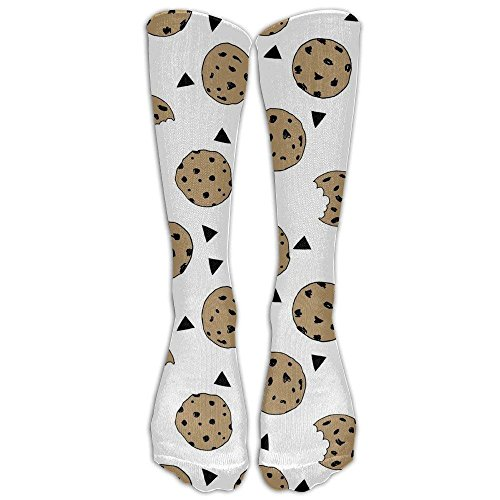 hutaz Cookies Food Chocolate Chip Biscuits Compression Socks For Men & Women,Graduated Athletic Socks Reduce Muscle Soreness,Best For Running,Sport,Travel,Nurses,Medical,Pregnancy,Marathon,Flight.