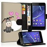 wicostar Wallet Book Style Flip Handy Tasche Case Schutz Hülle Schale Motiv Etui für Wiko Rainbow Jam - Design Flip MVD62