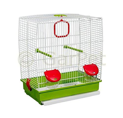 Vogelkäfig Komplett Wellensittich Kanarien Papagei Käfig Vogelbauer