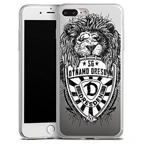 Apple iPhone 7 Slim Case Silikon Hülle Schutzhülle Dynamo Dresden Fanartikel Löwe Silikon Slim Case transparent