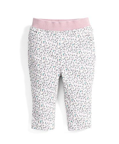 Mamas & Papas Baby-Mädchen Printed Jeans Multicoloured (Off White), 3-6 Monate