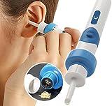 Electric cérumen retrait kit, électrique Ear Cleaner, avec 2New-designed Pointes...