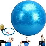 DOBO Gym Ball - Palla per esercizi palestra yoga ginnastica palla fitness addominali - con pompa a pedale