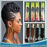 African Hair X-pression Braiding Black #1 by X-pression