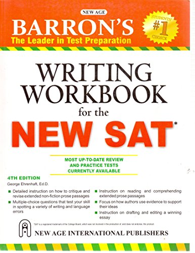 Barron`s Writing Workbook for the New SAT