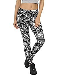 Urban Classics Damen Ladies Acid Wash Leggings