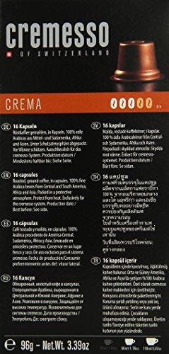 Cremesso Crema 16 Kapseln, 6er Pack (6 x 96 g)
