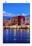 Eau Zone Home Bild - Landschaft Natur - Hafen auf Kreta bei