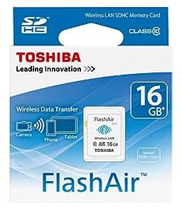 Toshiba FlashAir 16GB WiFi-SDHC-Speicherkarte (Class 10)