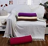Blau Decke Fell Optik Nerzdecke Kuscheldecke Felldecke Tagesdecke 130x180 cm Hochwertige Sofadecke Wohndecke Kuscheldecke Sofadecke