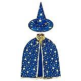 HomeMall Kinder Halloween Kostüm, Hexe Zauberer...