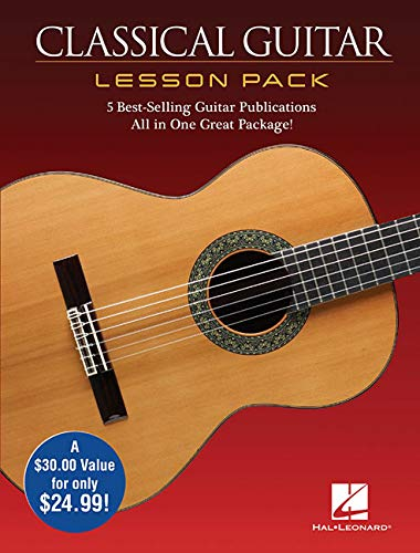 Classical Guitar Lesson Pack: Includes Downloadable Audio