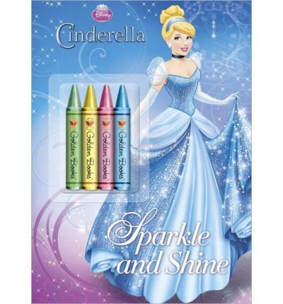 { SPARKLE AND SHINE (DISNEY PRINCESS) (COLOR PLUS CHUNKY CRAYONS) } By Random House Disney ( Author ) [ Aug - 2012 ] [ Paperback ] (Random Sparkle)