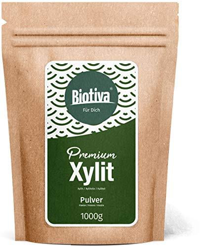 Xylit - Die Zucker-Alternative (1kg) - Birkenzucker (Xylitol) - Finnland - süß wie-Zucker - ohne Nachgeschmack - 1:1 wie Zucker - 40% weniger Kalorien als Zucker - für Diabetiker geeignet - ohne Mais - Die Zucker