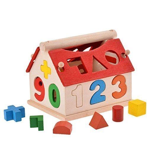 Arshiner Sapienza digitale Casa set e l'apprendimento della matematica Giocattoli di legno