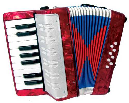 SCARLATTI   ACORDEON INFANTIL  COLOR ROJO